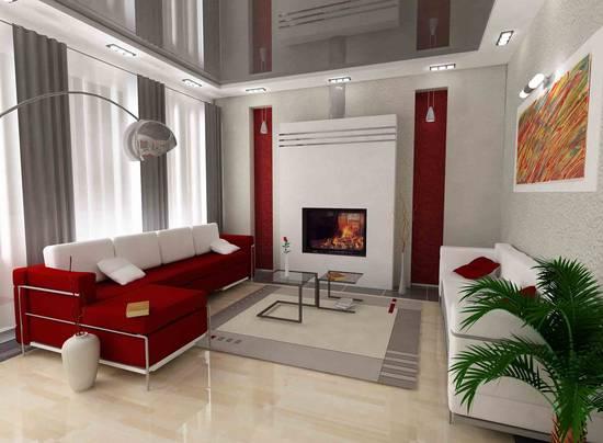дизайне интерьера квартир