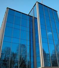 Фасады из стекла