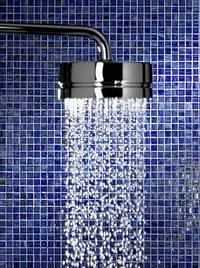 Керамическая мозаика душ