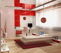 Красный интерьер