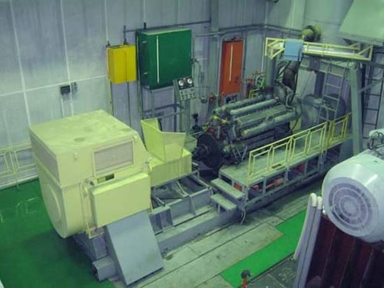 стенд для испытания дизель генераторов