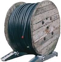 Устройство для размотки кабельных барабанов