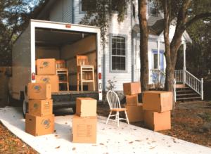Услуги по дачному переезду