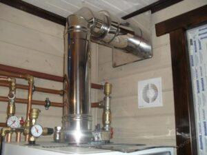 Трубы для вытяжки газового котла