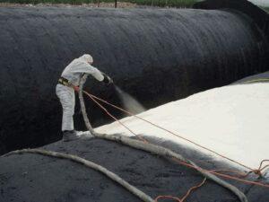 Гидроизоляция резервуаров жидкой резиной