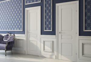 Двери покрытые эмалью